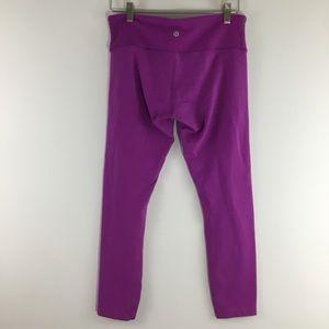 lululemon athletica Pants - Lululemon Purple Wunder Under Yoga Pants Leggings